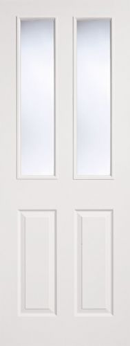 2 Panel 2 Light Moulded Internal Door